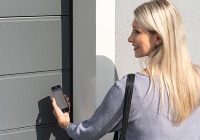 Hörmann Antrieb - Smarte App Bedinung
