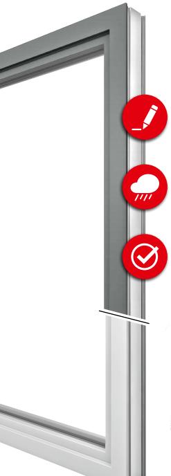 Vorteile Fenster mit Alu-Schale